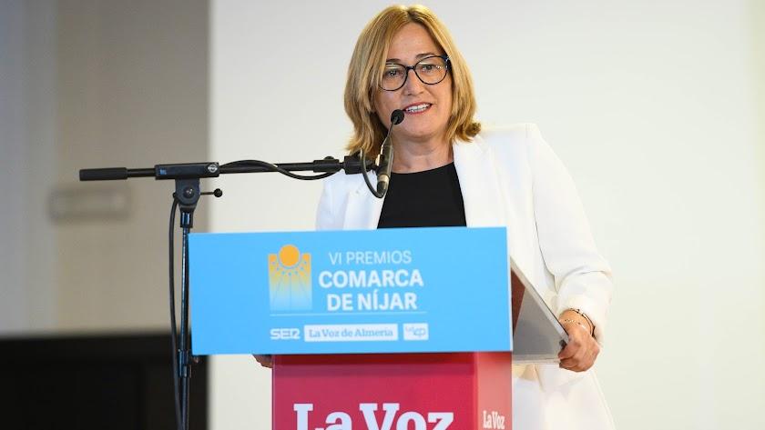 Esperanza Pérez hizo un llamamiento a todas las corporaciones municipales e institucionales para remar juntos.