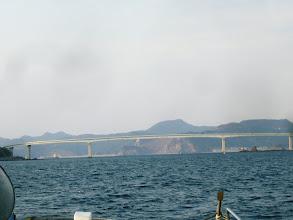 Photo: 本日(3/27)より開通の伊王島大橋です!