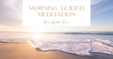 Morning Meditation - Facebook Event Cover template