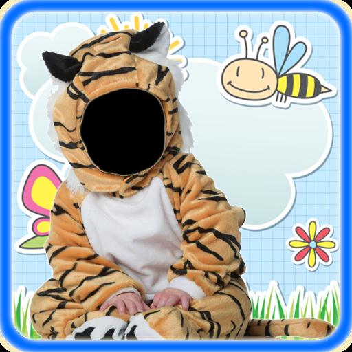 Baby Costume Photo Montage