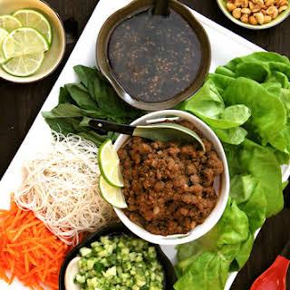 Vietnamese Beef Lettuce Wraps.