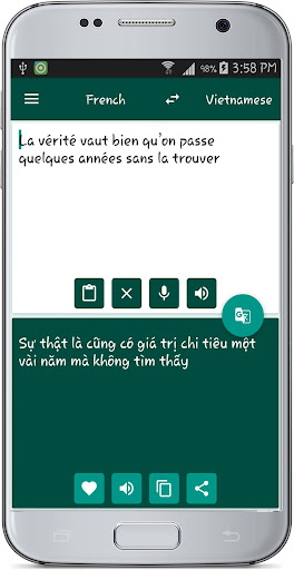French Vietnamese Translate 1.1 screenshots 2