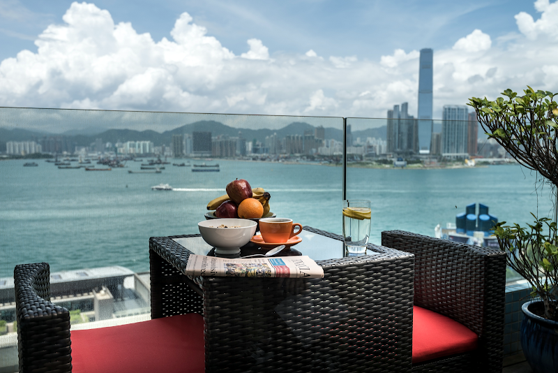 Bar at Exotic Residence in Sai Wan, Hong Kong