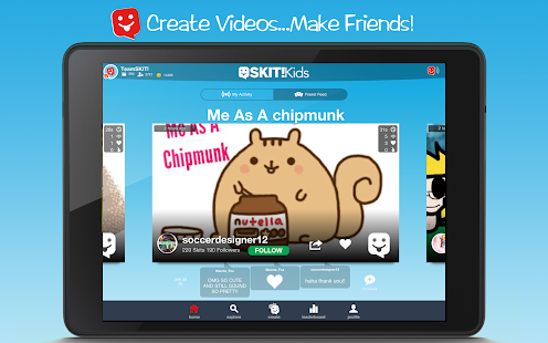 SKIT! Kids - Video Maker- screenshot thumbnail
