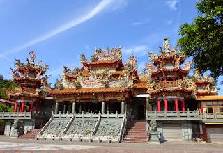 Photo: Temple, near Fulong