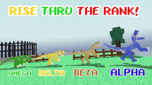 Blocky Dino Park: Raptor Attack 0.10 de.gamequotes.net 2