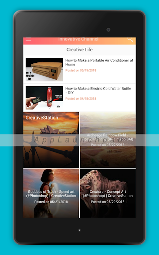 Creative and Innovative Channels 1.0 screenshots 4