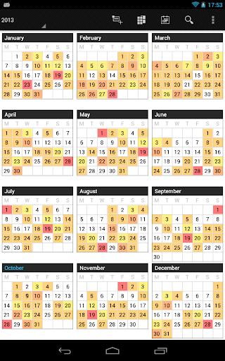 Business Calendar Beta screenshot 19