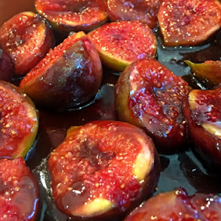 Caramelised Balsamic Figs.