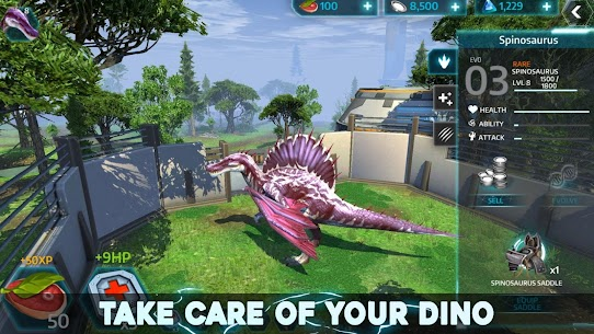 Dino Tamers Mod Apk – Jurassic Riding MMO | Unlimited Money 3