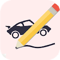 Draw Your Car - Create Build and Make Your Own Car icon