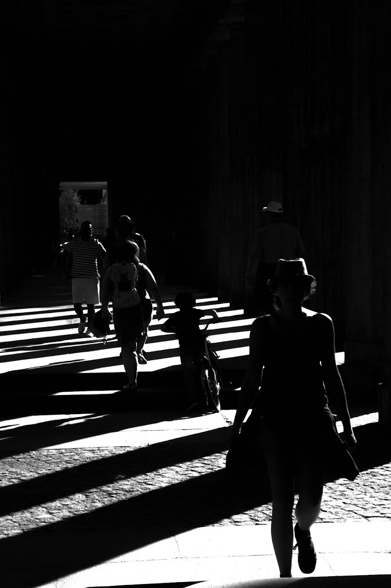 passeggiata in città di Giomi