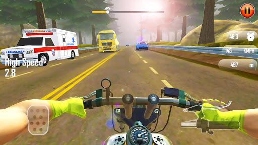 Real 3D Moto u2013 Moto Bike Racing | Traffic Rider  captures d'u00e9cran 2