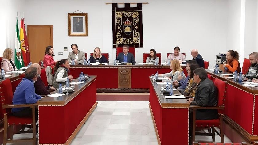 Sesión plenaria de Adra en la que ha salido adelante la propuesta.