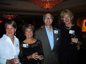 Photo: Gretchen Troster, Margie Gough, Frank & Ellen Teige at the 2002 ReUnion