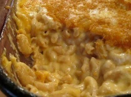 Macroni And Cheesy Sweet Potato Casserole Recipe
