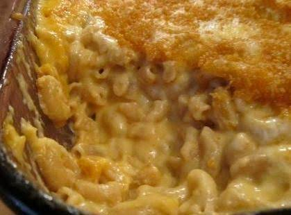 Macroni And Cheesy Sweet Potato Casserole