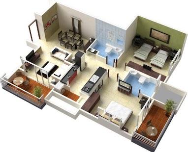 3D návrh domu