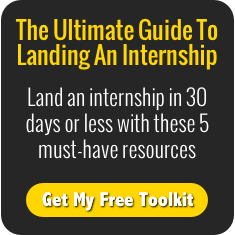Land an internship in 30 days or less