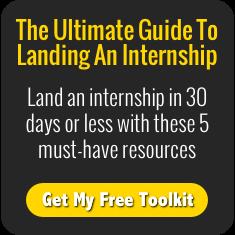 Land an internship in 30 days or less