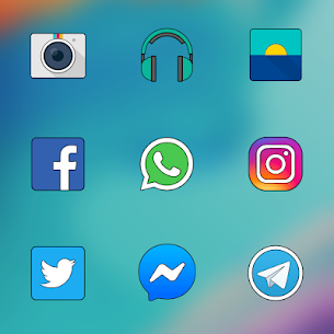 ONE PLUS OXYGEN ICON PACK HD v13.2 [Patched] APK 5