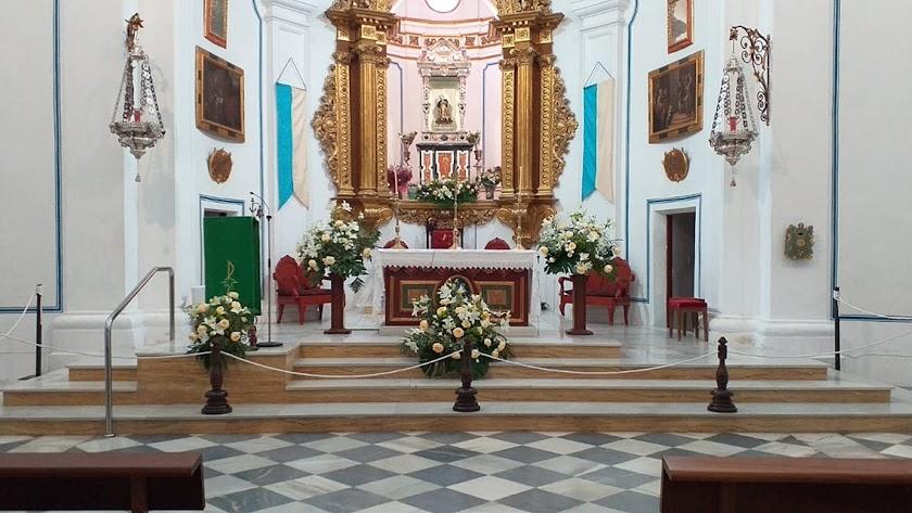 Imagen del Santuario del Saliente.