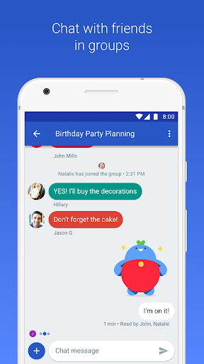Android Messages app (apk) free download for Android/PC/Windows screenshot