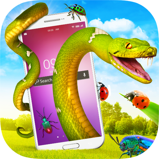 Snakes and Bugs on Screen - Snake Prank, Bug Prank Icon