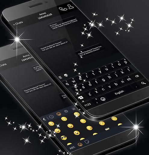 Black Style Keyboard 2020 screenshots 3