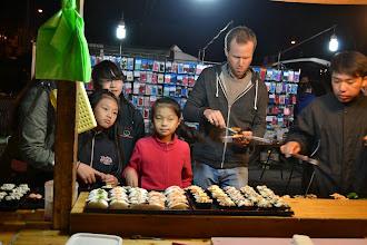 Photo: Sushi at the night market