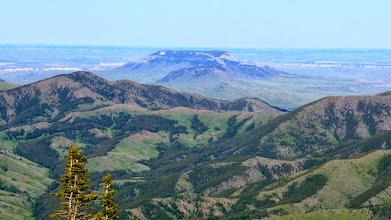 Photo: Square Butte near Geraldine (not the one near Cascade)