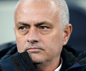 """José Mourinho neemt het op zijn manier op voor Harry Kane: """"Ik heb al met enkele spitsen gewerkt die 'niet slecht' waren"""""""