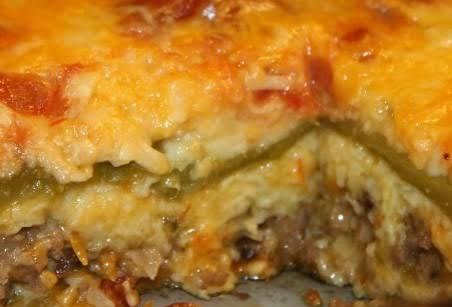 Meaty Chili Rellenos Casserole Recipe