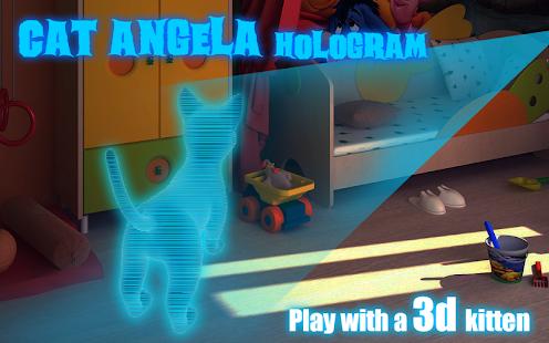 Cat-Angela-Hologram-3D-Kids 16