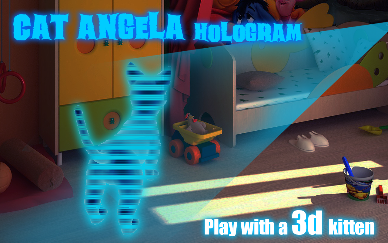 Cat-Angela-Hologram-3D-Kids 35