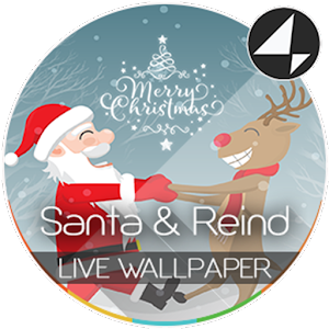 Santa & Reindeer for Xperia™ 1.2.3 Icon