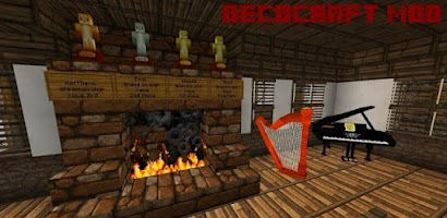 Decocraft mod mcpe android app on appbrain for Decoration mod mcpe 0 14 0