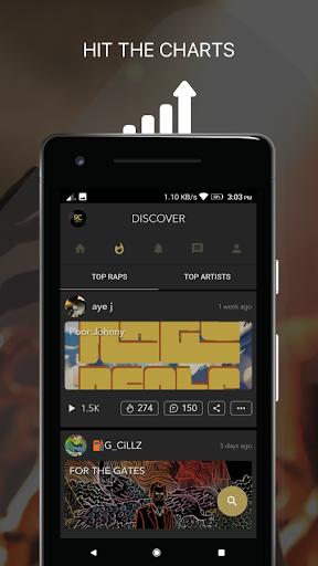 Rapchat: Social Rap Maker, Recording Studio, Beats screenshot 5