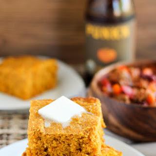 Pumpkin Cornbread (Gluten-free option).