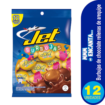 Chocolate Jet Burbujas