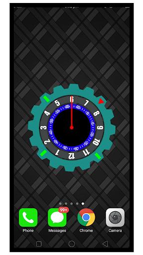 Modern night clock: Silver smart wallpaper App Report on Mobile