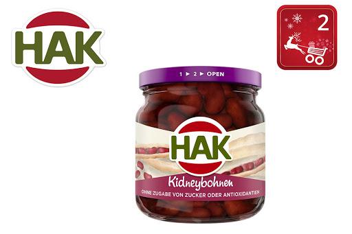 Bild für Cashback-Angebot: HAK Kidneybohnen im Glas - Hak