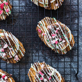 Holiday Peppermint Smore Cookies.