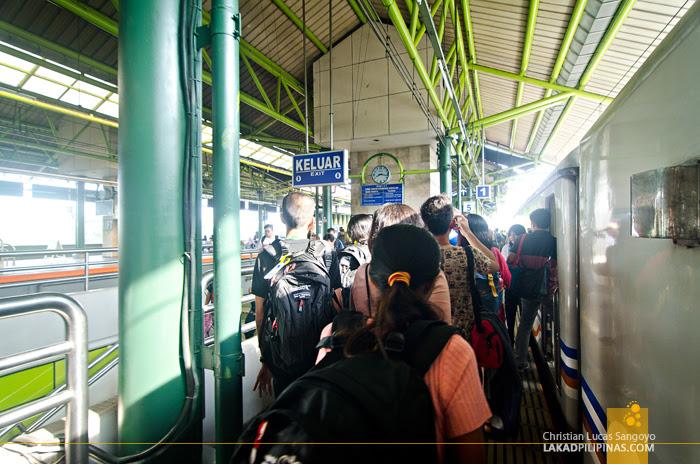 Train Jakarta to Bandung