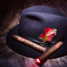 by Jim Moon - Artistic Objects Other Objects ( partagas, cigar, still life, whisper river photography )