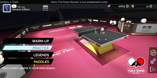 Table Tennis ReCrafted! android2mod screenshots 9