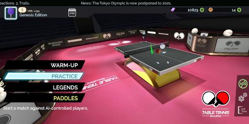 Table Tennis ReCrafted! apktram screenshots 9