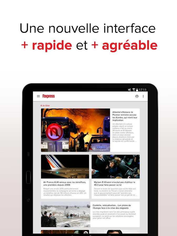 L'Express : news et actu en direct- screenshot