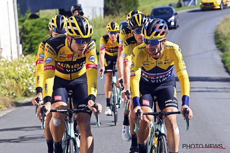 """Primoz Roglic kop van jut bij de Belgische wielerfans: """"Had graag van Aert wereldkampioen zien worden, maar ik kon zelfs niet meer sprinten"""""""