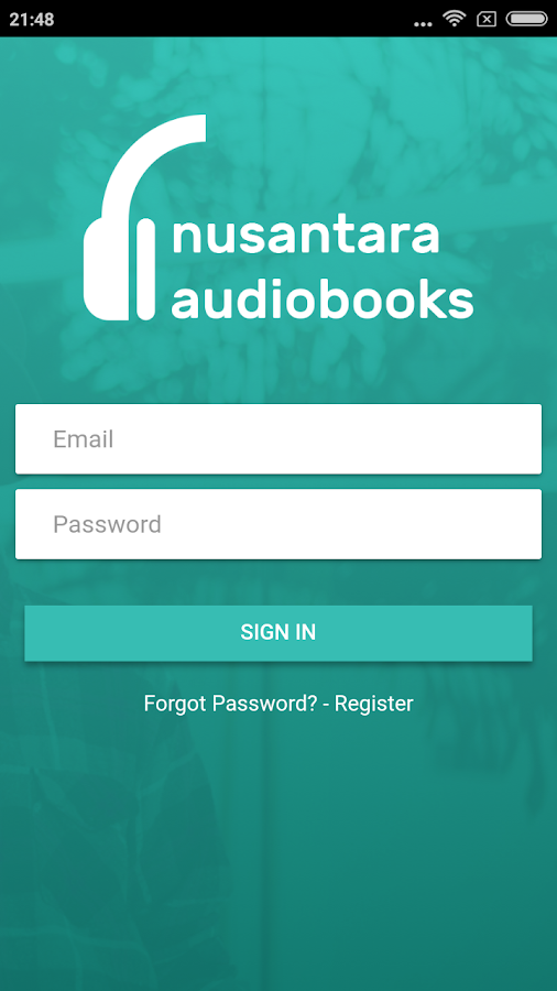 Nusantara Audiobooks- screenshot